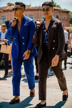 Best street style: Pitti Uomo SS19 | British GQ | British GQ Cheap Mens Fashion, Best Mens Fashion, Mens Fashion Suits, Men's Fashion, Fashion Ideas, Fashion Quotes, Fashion Styles, Fashion Inspiration, Fashion Trends