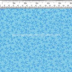 "SALE FABRIC - Quilt Fabric - Cotton Fabric - Blue Fabric - Quilting Material - 30"" only"