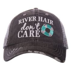 Take a look at this Katydid Collection Gray   Coral  River Hair Don t Care  Trucker  Hat today! c566c6f1f0fb