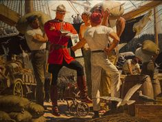Arnold Friberg - For the introduction to this two-part post, and to read Part 1, click HERE . Indians and Mounties This is a great ...