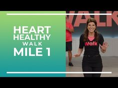 To wrap of Heart Month, here is a brand new Heart Healthy Walk! This is a 1 mile walk with a brand new cast! Aerobic exercise is one of the TOP PROTECTORS of. Easy Workouts, At Home Workouts, Workout Exercises, Fitness Workouts, Cardio Workout Plan, Elliptical Workouts, Walking Exercise, Walking Workouts, Leslie Sansone