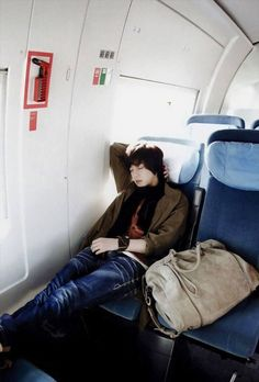Hyunnie sleeping