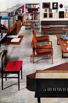 hipsters: Pictures of mid-century style in Fifties House