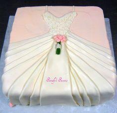 Bridal Shower Cakes   wedding shower dresses on Full Size Wedding Dress Bridal Shower Cake ...