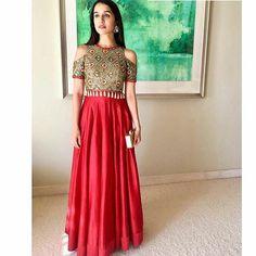 #Repost @arpitamehtaofficial with @repostapp ・・・ The lovely Shraddha Kapoor looking ethereal in our fresh red chanderi kurta with the Dibbi fringe cold shoulder jacket at her Bffs Mehndi! @shraddhakapoor @eshankawahi #arpitamehta #festivewear #fusionwear #celebritystyle #dibbiwork #mirrorwork #shraddhakapoor #harryeshk #shraddhakapoor #bollywood #actress #desidunya
