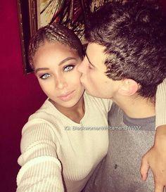 @iamdeborahlynn_ 😍 And yes she's black!_ ❤️ #Bwwm #Wmbw #love #bestfriends #mixed #mixedcouple #mixedlove #interracial #swirl #boy #girl #bmww #blackgirl #whiteboy #followme #selfie #relationshipgoals #cute #photo #happy #beautiful #style #hot #photooftheday #smile #naturalhair #makeup #mac