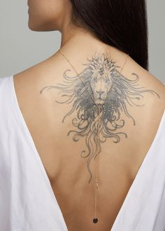 Amazing Animal Back Tattoo designs to try Amazing Animal Back Tattoo designs to Amazing Animal Back Tattoo designs to tryAnimals are one of the most popular themes for tat Head Tattoos, Wolf Tattoos, Back Tattoos, Animal Tattoos, Future Tattoos, Body Art Tattoos, Sleeve Tattoos, Girl Tattoos, Lion Tattoo Design