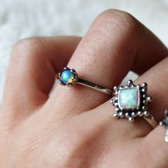 My Immortal Welo Opal Ring