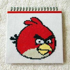 Angry Birds czerwony - notes, szkicownik
