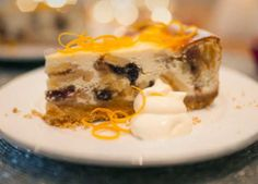 A great Christmas dessert using freefrom mince pies and biscuits to make a delicious festive gluten-free cheesecake