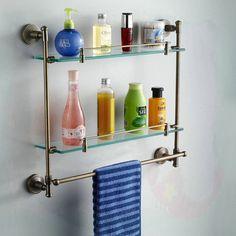 prateleira de vidro para banheiro - Pesquisa Google