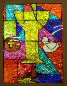 by Levels 6 – 10 Students studied and discussed the stained glass windows often overlooked in our own church. They also learned about C...