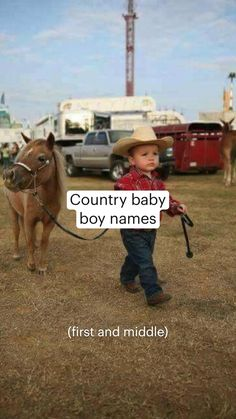 Country Baby Boy Names, Western Baby Names, Cute Baby Girl Names, Southern Baby Names, Cute Country Boys, Cute Names, Cute Baby Girl Outfits, Cute Funny Babies, Cute Baby Clothes