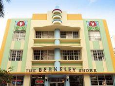 Berkeley Shore Hotel, Art Deco Miami Beach - click for more #ArtDeco in Miami