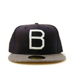 New Era Brooklyn Dodgers Navy Ebbets Field Hat