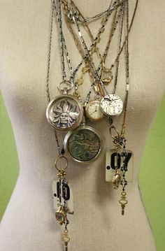 steampunk | Knitique: Steampunk Jewelry Trunk Show