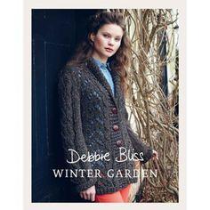 Lace Jacket in Debbie Bliss Winter Garden | Knitting Patterns | LoveKnitting
