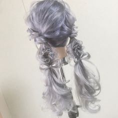 おとぎ話 – From Parts Unknown Kawaii Hairstyles, Pretty Hairstyles, Wig Hairstyles, Kawaii Wigs, Lolita Hair, Candy Hair, Cosplay Hair, Hair Reference, Anime Hair