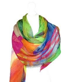 Irish Design, Scarf Design, Keep Warm, Luxury Living, Wearable Art, Sustainable Fashion, Vibrant Colors, Cashmere, Scarves