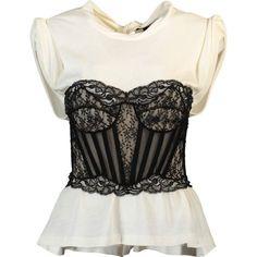 Alexander Wang Trompe L'oeil Shirt ($795) ❤ liked on Polyvore featuring tops, zipper back shirt, slim fit shirts, cotton shirts, slim fit cotton shirts and alexander wang shirt
