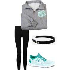 Athletic outfit, created by southernprep1 on Polyvore