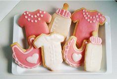 Kekse für Mädchen! #Babyparty #BabyShower