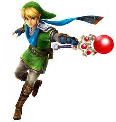 #Link fire rod from the official artwork for #Hyrule Warriors #Zelda http://www.zelda-temple.net/hyrule-warriors