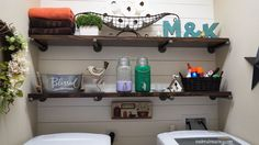 This will totally brighten your laundry room (without painting it)—and over 9 THOUSAND people have already pinned it!