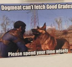 On a billboard at Cogswell Polytechnical College #Fallout4