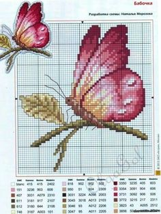 Butterfly Crossstitch
