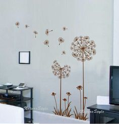 Items similar to decal wall vinyl decal wall tree wall decal wall decals Nursery wall decals Branch vinyl wall decals Children wall decals nature---Flower on Etsy Baby Wall Decals, Nursery Wall Murals, Mural Wall Art, Vinyl Wall Stickers, Wall Decal Sticker, Large Wall Murals, Wall Vinyl, Nursery Room, Mural Floral