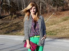 Stripes and florals, the perfect blend!