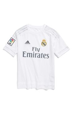 b531762c6a4 adidas 'Real Madrid' CLIMACOOL® Home Soccer Jersey (Little Boys & Big