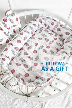 Portable Bed, Cute Blankets, Baby Nest, Minky Blanket, Cribs, Etsy Seller, Newborns, Separate, Pillows
