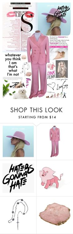 """""""Million Reasons"""" by lseed87 ❤ liked on Polyvore featuring Vanity Fair, MAC Cosmetics, Louis Vuitton, Pamela Love and Anna New York"""