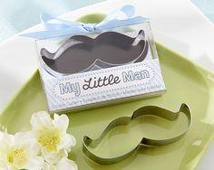 My Little Man Mustache Cookie Cutter Favours