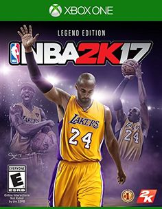 NBA 2K17  Legend Edition  Xbox One -- You can find out more details at the link of the image.Note:It is affiliate link to Amazon.