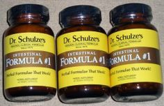 ***** NEW GLASS Bottles! ***** Set 0f 3 ~ Dr. Schulze's Intestinal Formula #1 Colon Bowel Cleanse 90 Cap Bottles *****SAVE on 3 Bottles***** by Intestinal Formula #1. $60.51. Dr. Schulze's Intestinal Formula #1 promotes regular, healthy and complete bowel movements and stimulates and strengthens the muscular movement of the colon.
