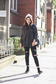 look con ripped jeans y botas western myblueberrynightsblog