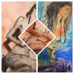 Gabriela Gürtner   artista plástica Collage de la serie Histeria