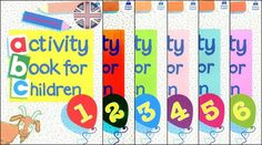 E-Books for Learners & Teachers of English: Activity Book for Children 1-6…