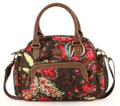 Oilily Paisley Flower Handbag Damenhandtasche   Designer Handtaschen