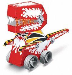 Dinobot feest: Een stoer item voor echte mannen! Zet de jongens aan het werk en laat ze hun eigen Dinobot maken. Niet alleen kunnen ze lekker knutselen, daarna hebben ze ook nog veel speelplezier met deze echt rijdende Dinobot.  •Geschikt voor 8 jaar en ouder •Prijs per kind: € 17,50