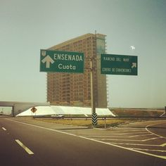Road to Ensenada. Highway 1. Photo by strolleradventures