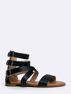 64ff5770a721 Strappy Gladiator Flat Sandal     You can get more details by clicking on  the image.