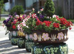flores e pneus 4
