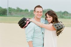 Baseball engagement shoot