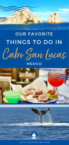If you are dreaming of a Mexican Riviera cruise vacation or travel, be sure to visit Cabo San Lucas. Here we share the best things to do in this cruise port. From a day at the beach to outdoor activities, there is something for everyone. You can explore history and culture, geography and wildlife, and of course local food and drink. Just because we can't cruise now, doesn't mean we can't plan our next adventure! #CaboSanLucas #Mexico #MexicoVacation #MexicanCruise #CruiseVacation #Excursions