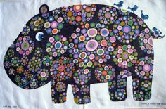 Of the (ahem) few tea towels I own, I'm not sure I have a hippo. Hanging Fabric, Vintage Designs, Floral Designs, Mid Century Modern Art, Tapestry Weaving, Retro Art, Dot Painting, Hand Dyed Yarn, Tea Towels