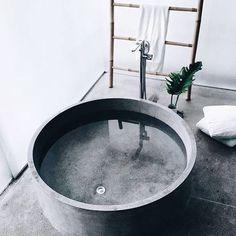 Imagem de bathroom, interior, and grey